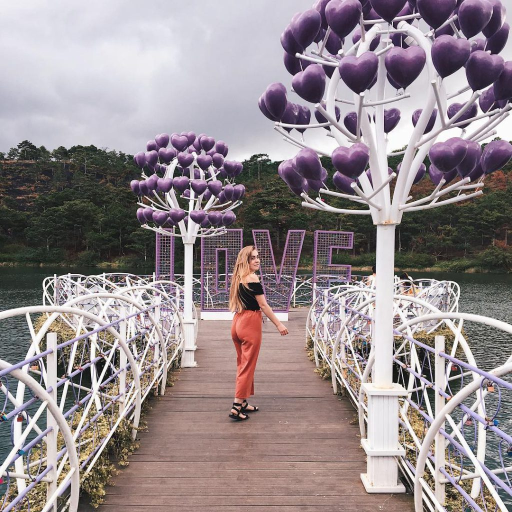 Dalat Valley of Love attracting a lot of domestic and foreign tourists