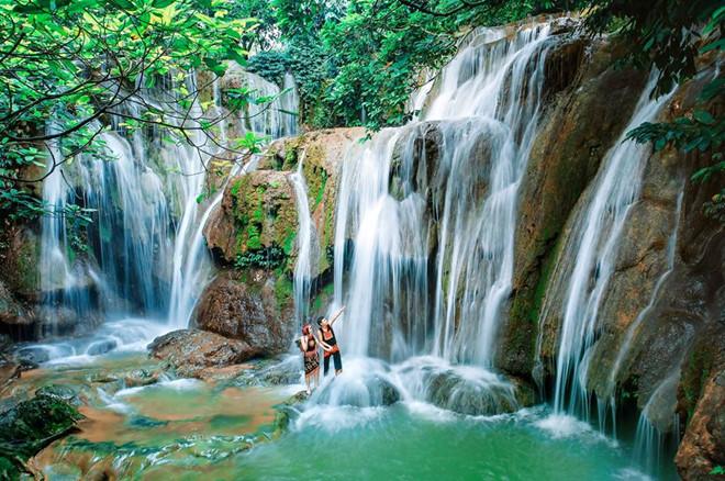 Elephant waterfall Dalat