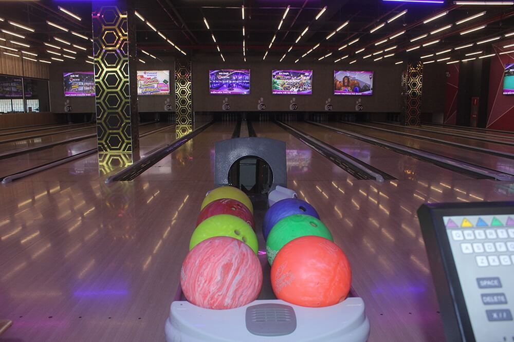 C'BOWLING is the only bowling alley serving in Dalat