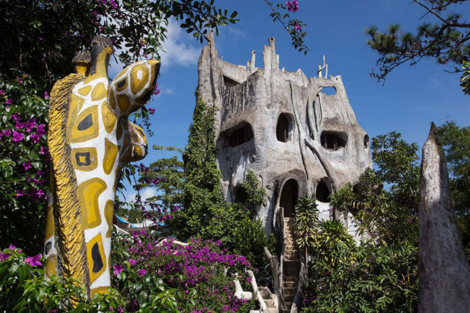 Crazy House Dalat among the world's most unique and special hotels