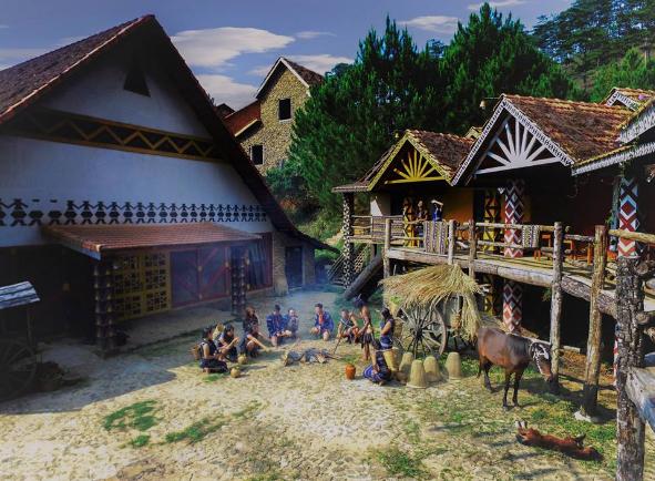 Cu Lan village opening hours