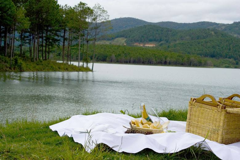 Paradise for picnic-lovers