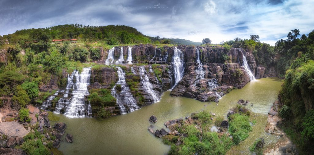 Pongour Waterfall is an outstanding eco-tourism area