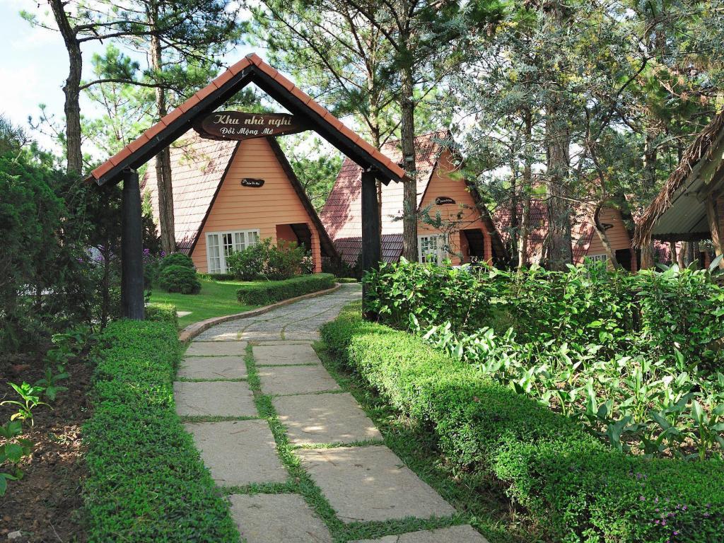 The resort at Mong Mo hill Dalat