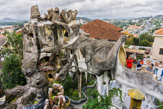 This destinationis only 1.3 km away from Dalat market