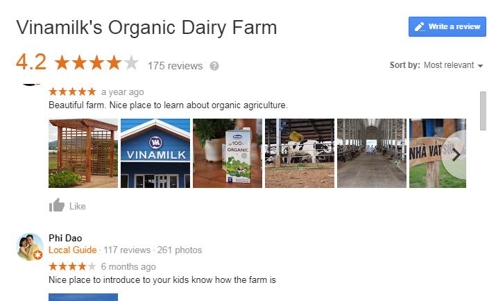 Vinamilk Organic Milk Farm Review