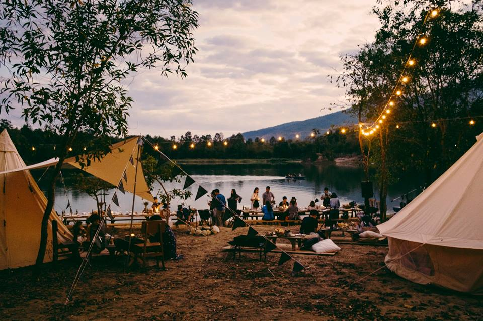 Camping - Picnic with friends