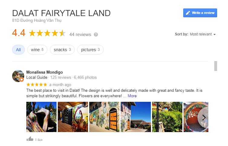 Dalat FairyTale Land Review