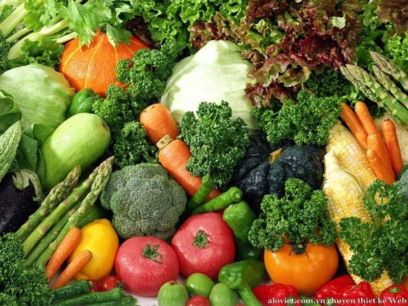 Dalat fresh fruits and vegetables