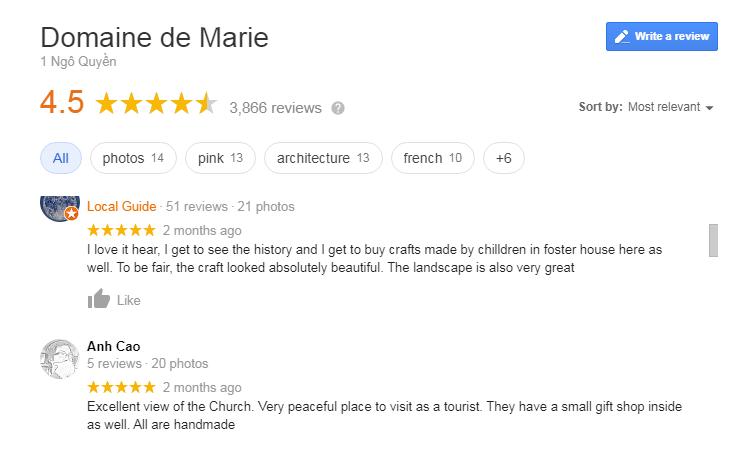 Domaine de Marie Review