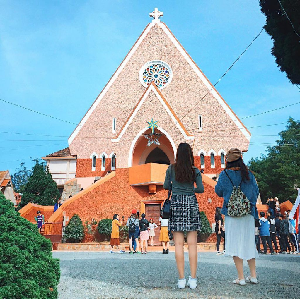 One of the biggest church of Dalat city