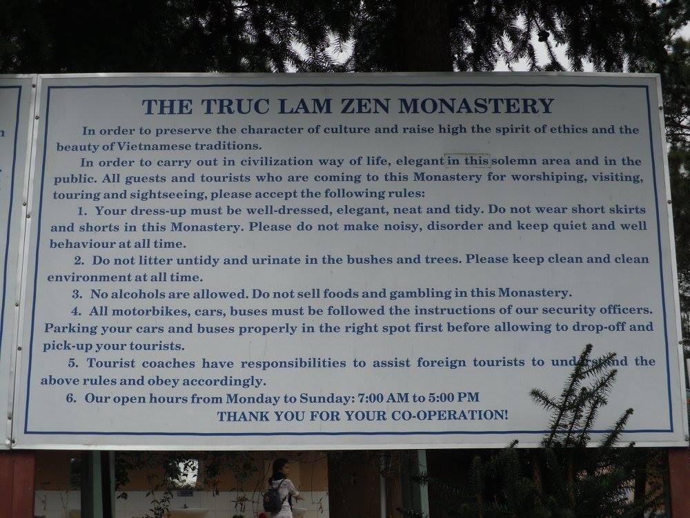Rules of Truc Lam