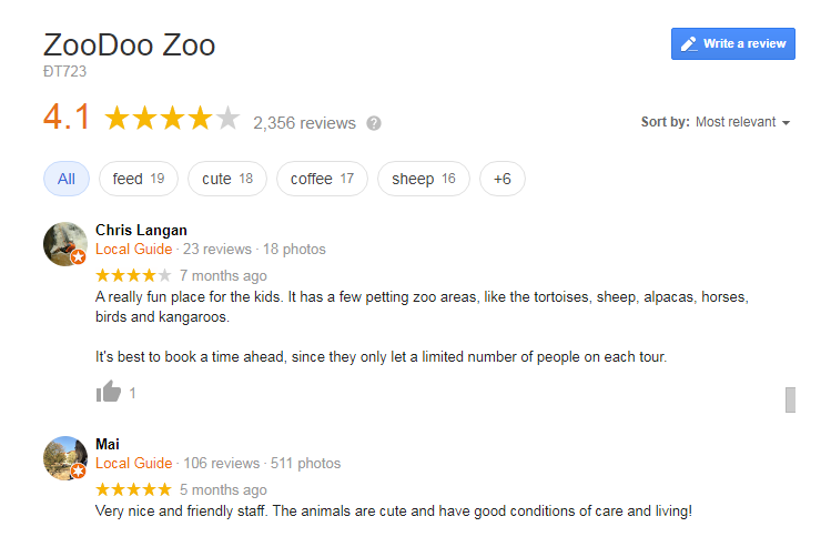 ZooDoo Zoo & Cafe Review
